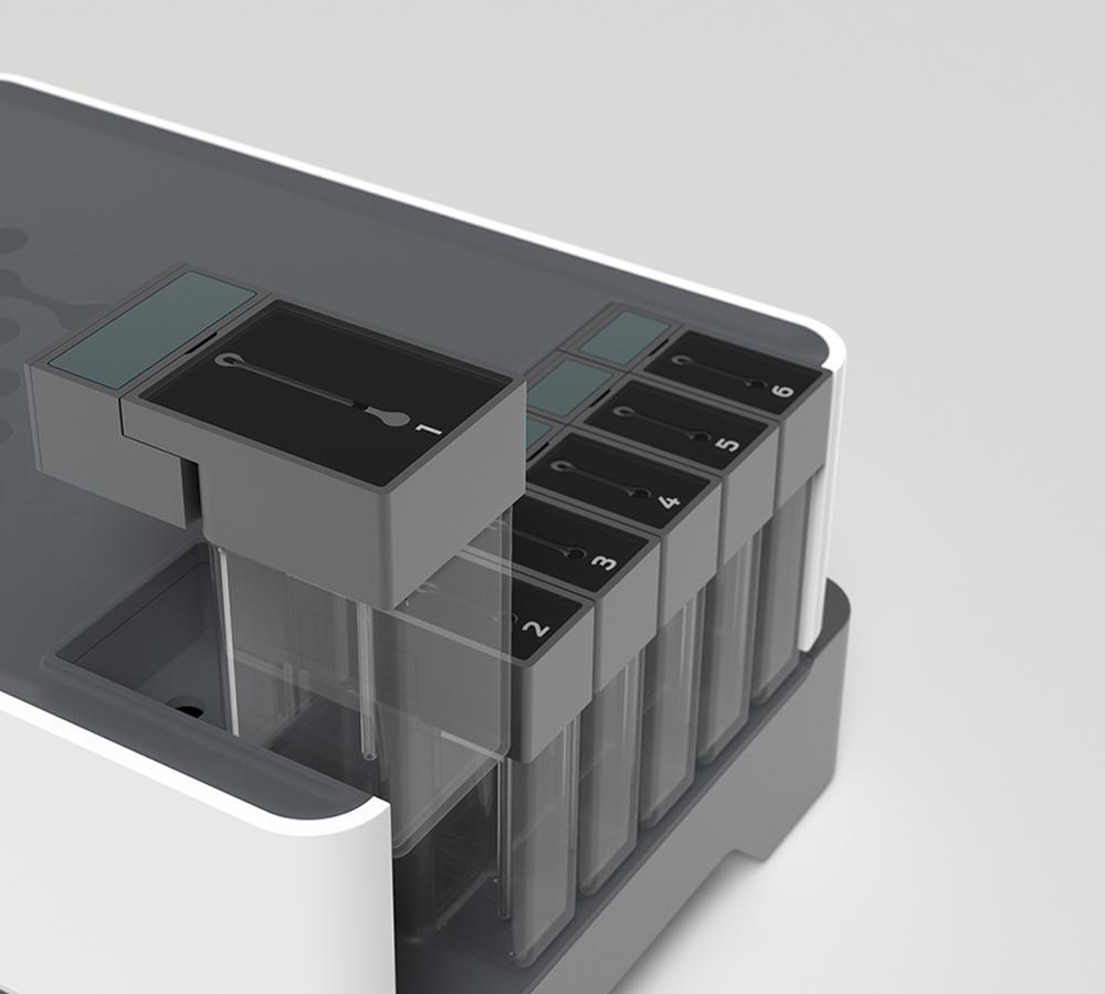 Mighty Studios - AxBio - Gene Sequencer