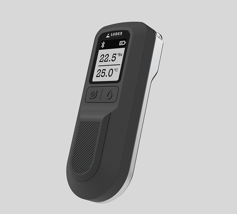 Mighty Studios - Ludor Wines - Connected Refractometer