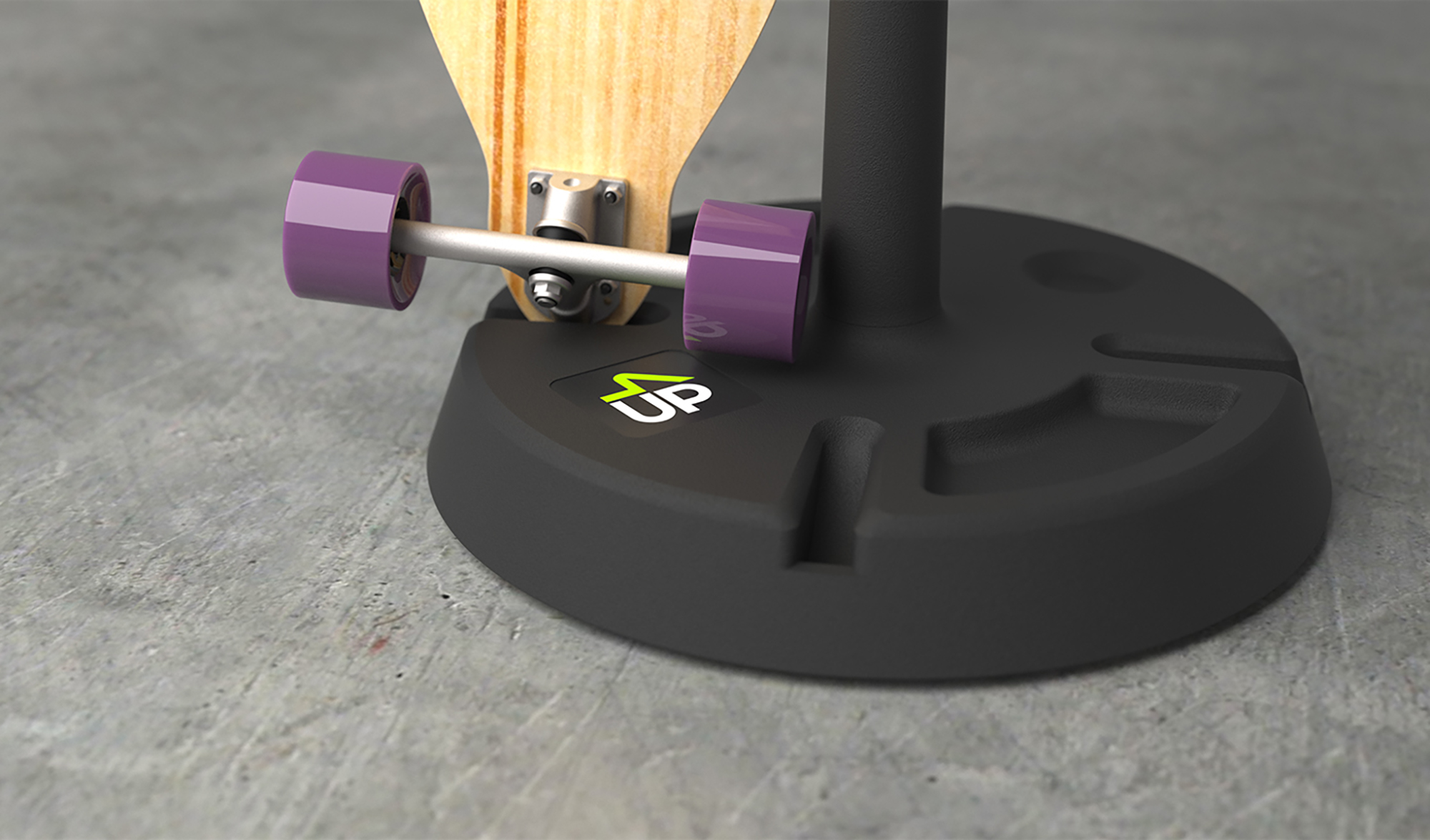 Mighty Studios - Skateboard Stands