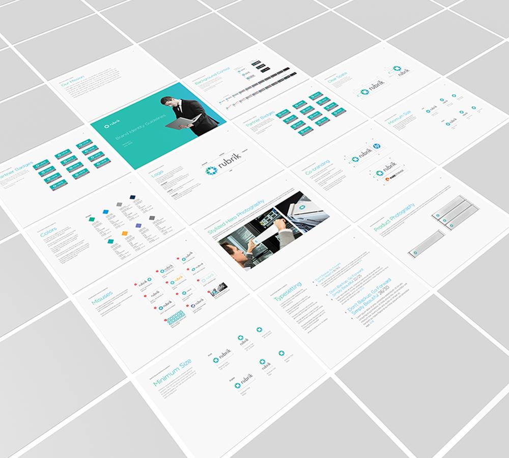 Rubrik - Branding & Bezel Design
